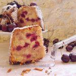 עוגת שקדים ודובדבן עשירה מתכון