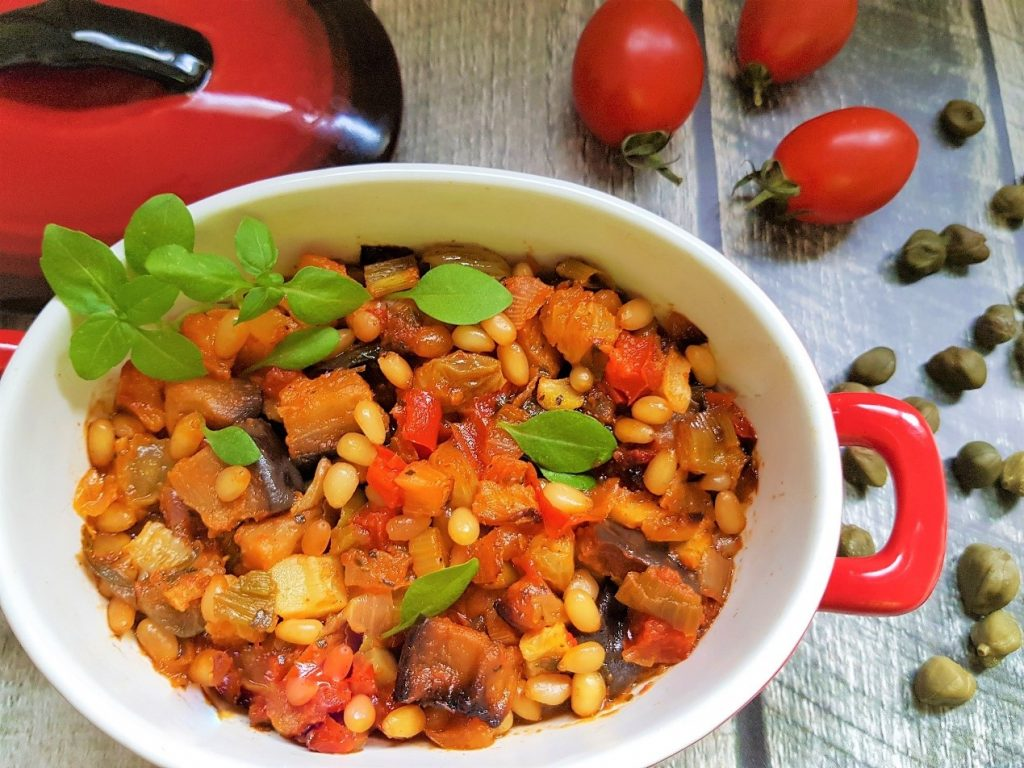 קפונטה ירקות סיציליאני