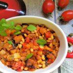 קפונטה ירקות סיציליאני מתכון