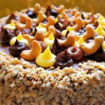 עוגת קשיו חגיגית ללא גלוטן